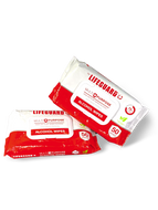 Lifeguard Multi-Purpose Wipes $7.99 each  -  36 per case