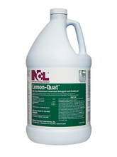 Load image into Gallery viewer, Lemon-Quat Disinfectant Cleaner Case of 4 One Gallon Bottles