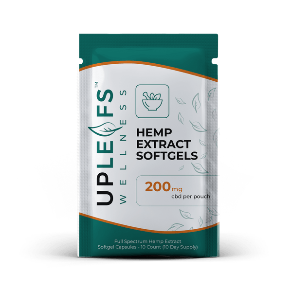 Wellness Hemp Extract Softgel Capsules - 600mg or 200mg