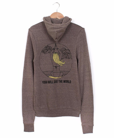 Coffee Mermaid Yogi Hoodie