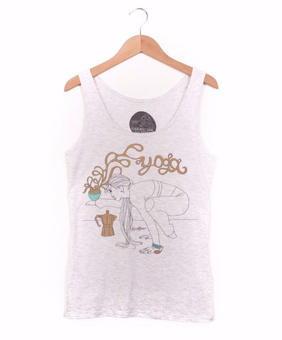 Yoga & Coffee Vest - 100% Organic