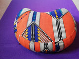 Shweshwe Crescent Meditation Cushion