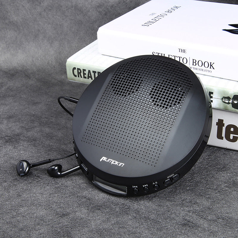 Customer Review on Portable Music CD Player with on-ear Headphones (BQ0254B)