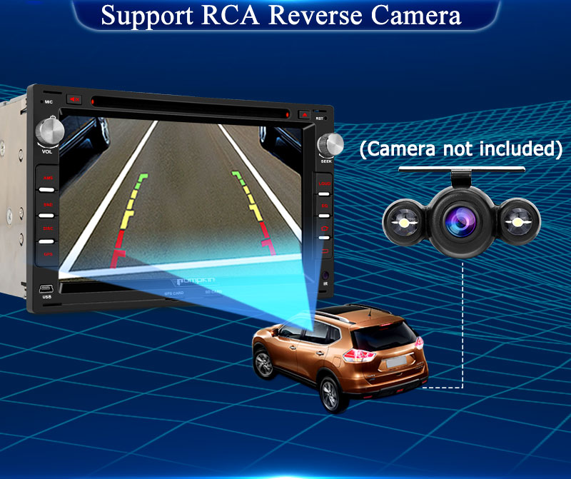 vw t5 stereo with reversing camera