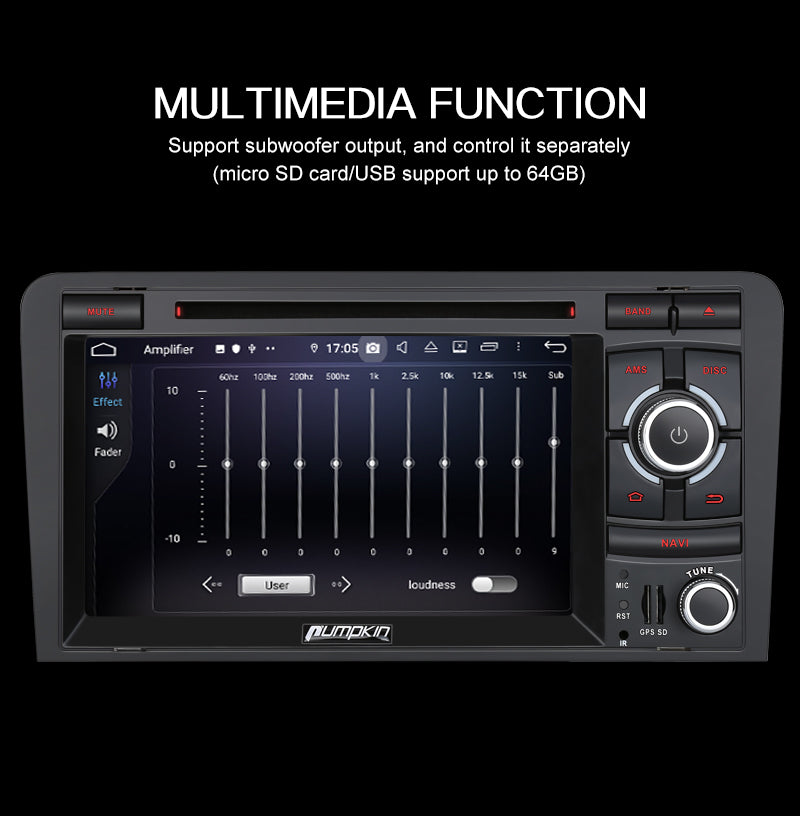 audi a3 8p android head unit