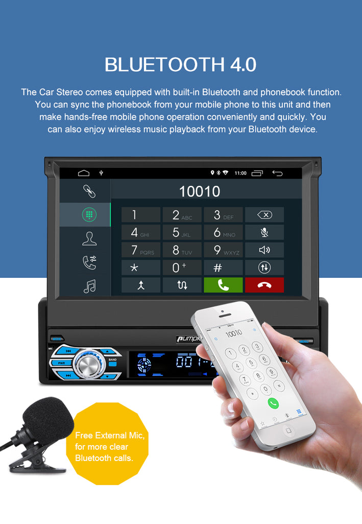 best 1 din android car stereo