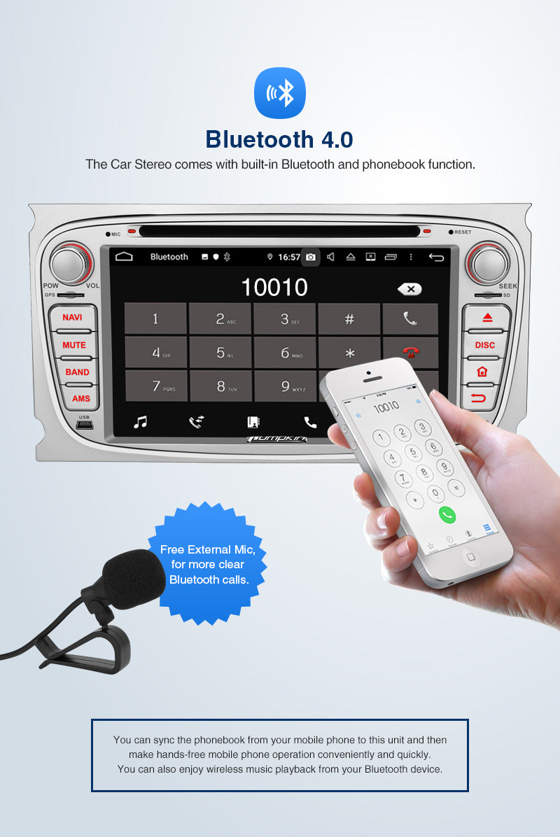 ford bluetooth radio