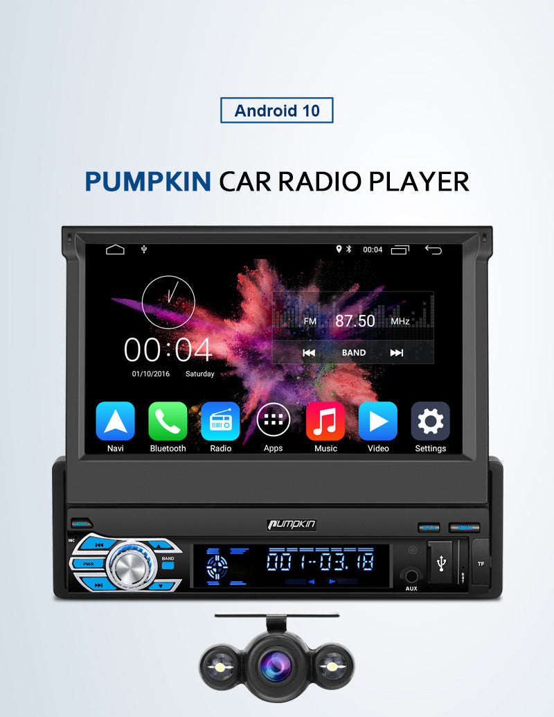 1 din android 10 car head unit