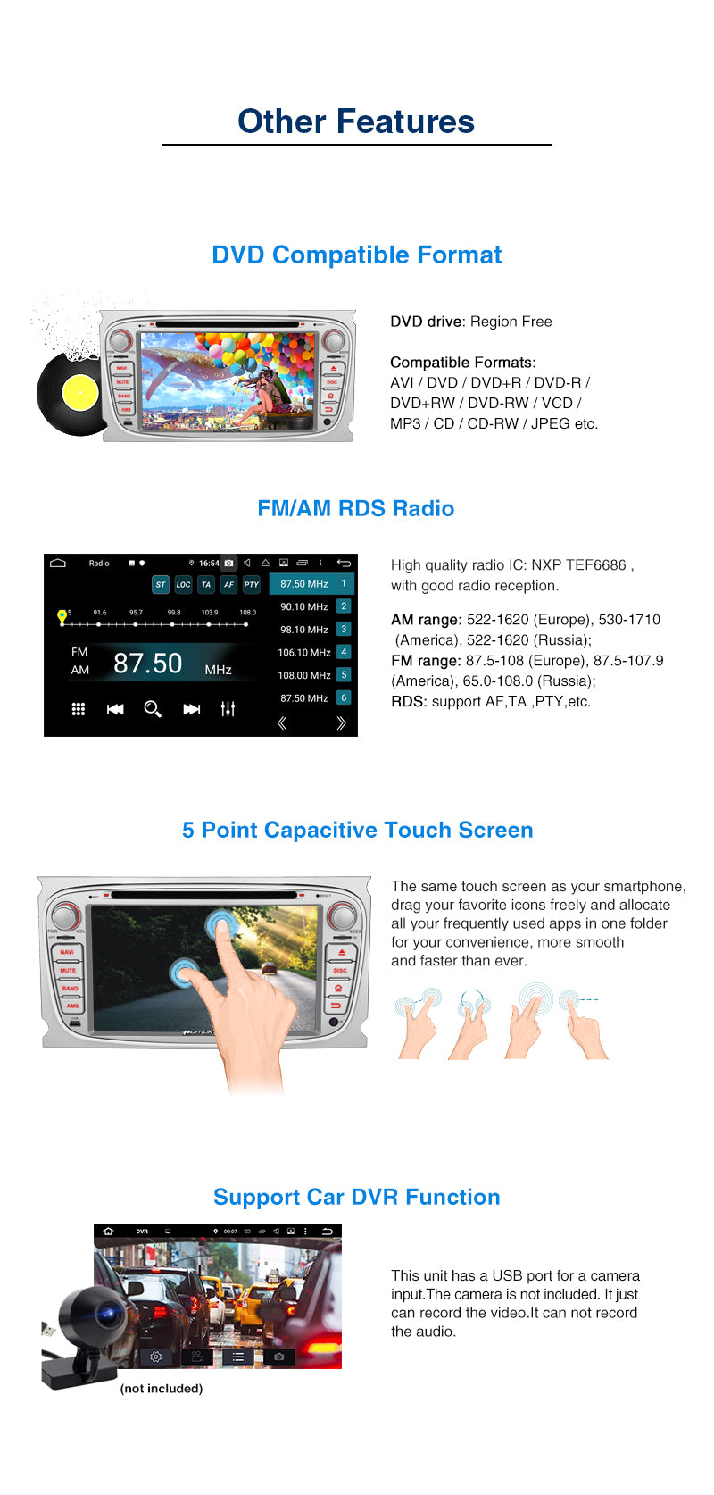 ford multimedia player