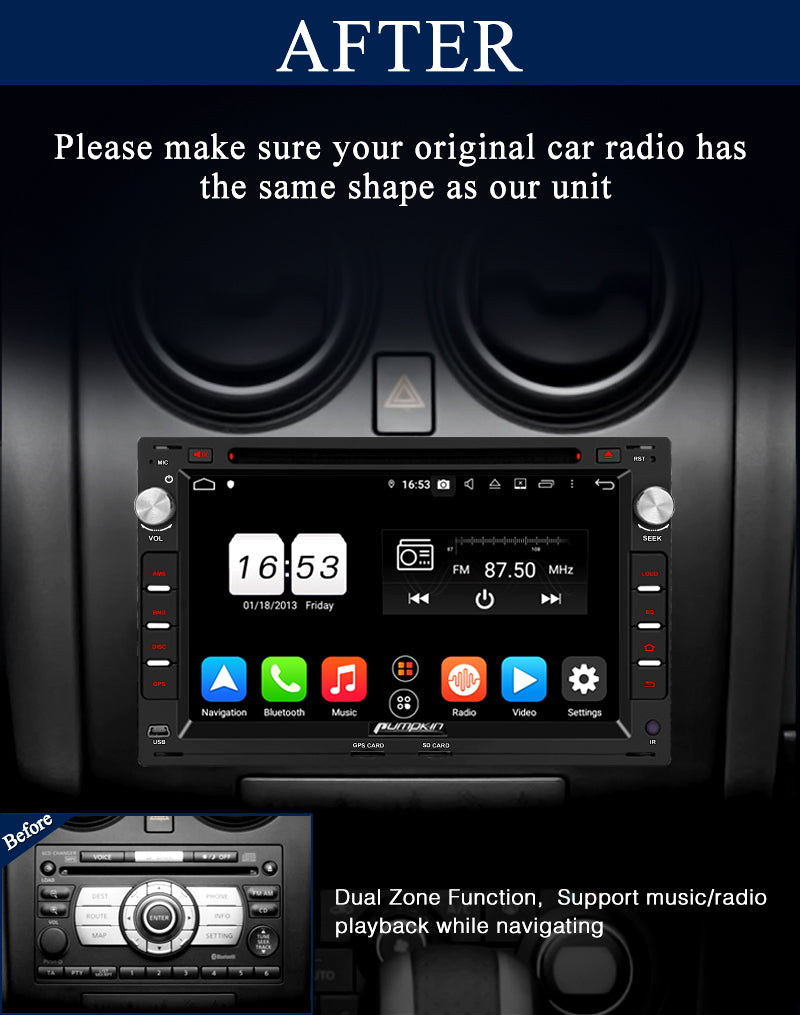 t5 stereo
