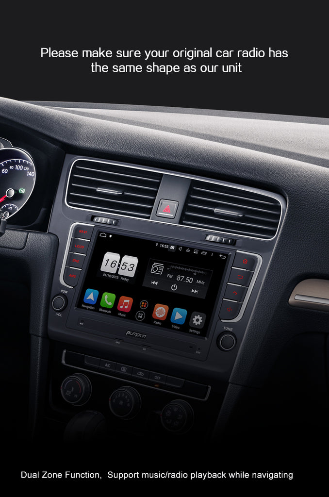 golf 7 android head unit