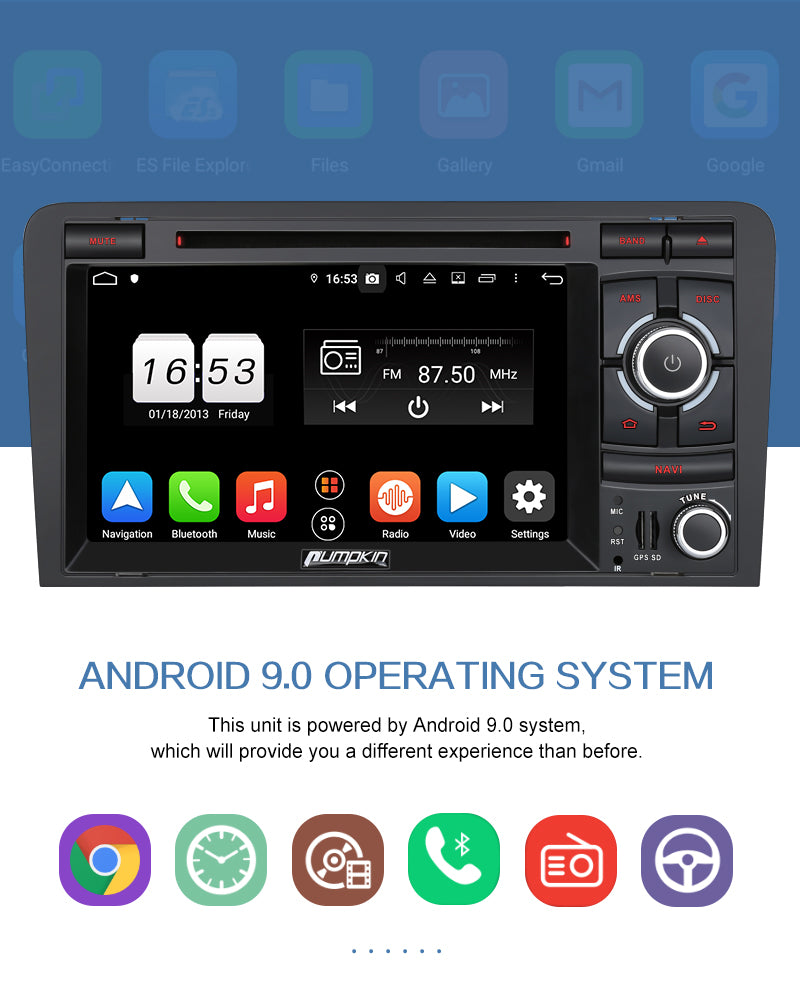audi a3 android head unit