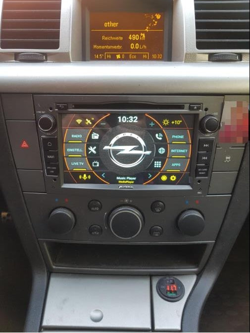 Opel Vectra C radio replacement