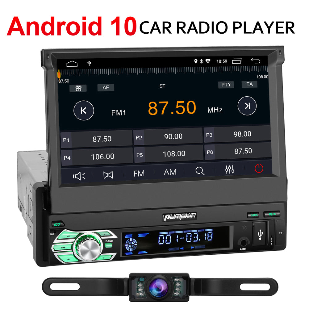 android 10 car radio with backup camera