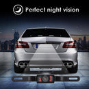 License Plate Car Rear View Wide Angle Reverse Night Vision Backup Camera With Durable Metal material/CMOS/Waterproof/Marking Lines/Shockproof