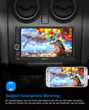 "Pumpkin 7"" Android 9.0  Touch Screen Car Radio with Reverse Camera Support Nav Bluetooth, Apple CarPlay/Android Auto"