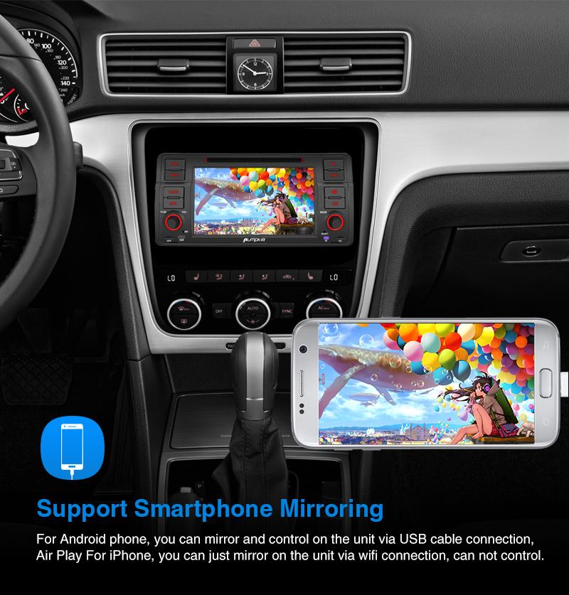 "Pumpkin Android 9.0 Car Stereo  for BMW E46 - 7"" Touchscreen Octa Core  with RAM:4GB ROM:32GB"