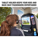 Car Back Seat Waterproof Cooler Storage Bag with 2PCS Headrest Hangers