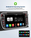 "Pumpkin 7"" Octa Core Android 9.0 Infotainment Head Unit for Ford Focus with backup camera"