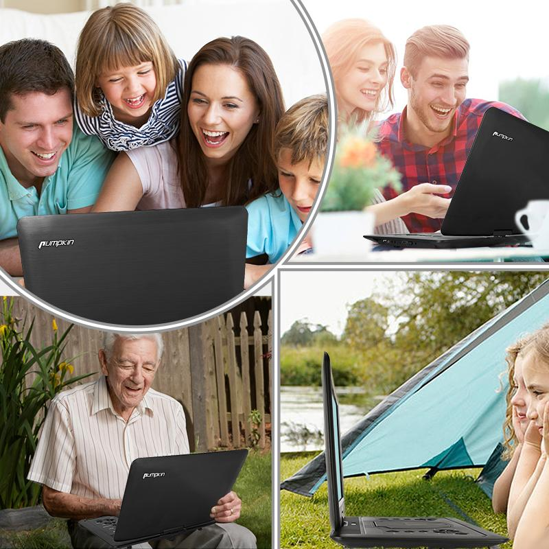 "16"" Portable DVD Player Monitor with Rechargeable Battery, HDMI input port"