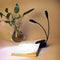 1000MA Rechargeable 4 LED Book Light Flexible Clip Light