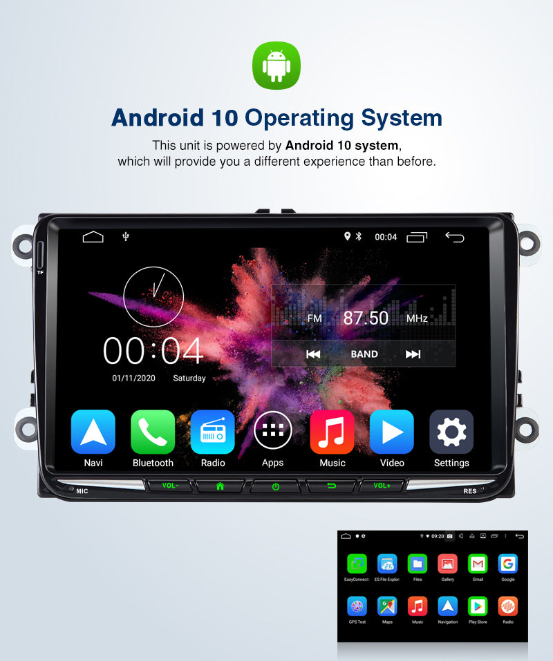 vw t5 head unit