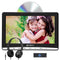 12 Inch 366*768 IPS Screen Car Headrest DVD Player with Headphones and Customized Headrest Mount Holder
