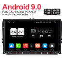 Pumpkin android car double din radio