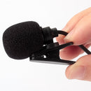 3.5mm Jack Hand Free Clip Microphone for Car Radio DVD Player