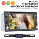 Pumpkin 6.2 Inch 2 DIN Universal Car Stereo with Backup camera, DVD Player