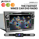 Pumpkin 7 inch Wince 6.0 Car Stereo Head Unit for Opel Vauxhall with Reverse Camera