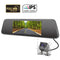 Pumpkin 7-Inch Touch Screen Backup Camera Dash Cam Front and Rear Dual Channel with Rear View Reversing Camera