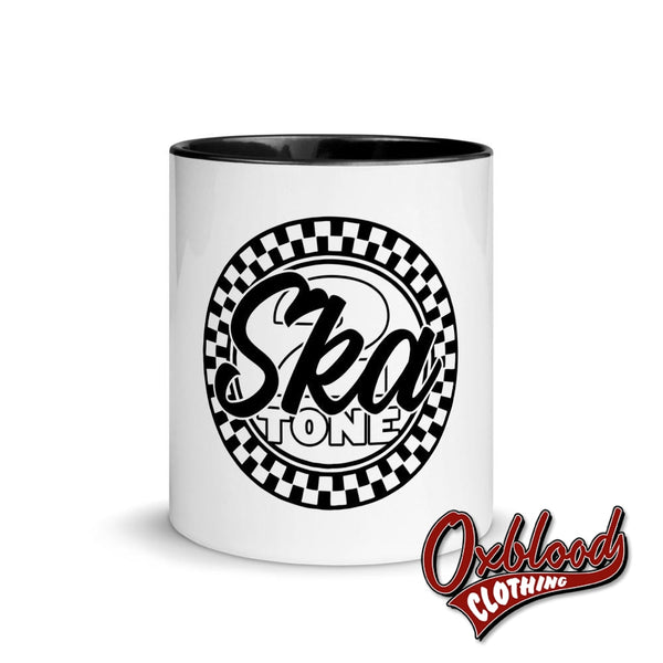 2-Tone Ska Mug With Color Inside - Two Tone Music