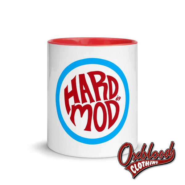 Hard Mod Mug With Color Inside - 60S Northern Soul Traditional Skinhead