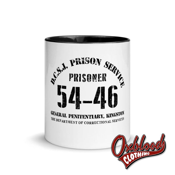 Kingston Prison 5446 Mug With Color Inside 54-46 Toots And The Maytals Mugs