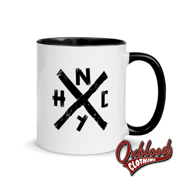 Nyhc Mug With Color Inside - Hxc Merch New York Hardcore Gifts Mugs