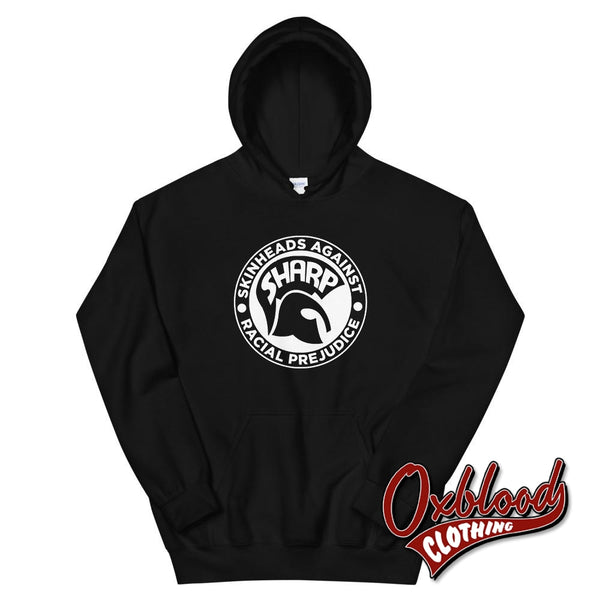 Sharp Skinheads Against Racial Prejudice Hoodie - S.h.a.r.p. Apparel Black / S