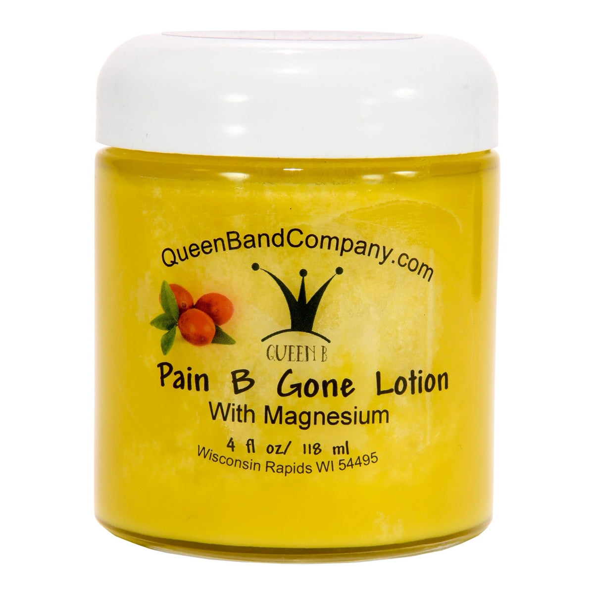 Queen B Pain B Gone Lotion with Magnesium