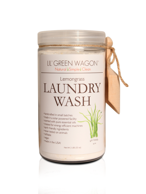 Lil' Green Wagon Laundry Wash