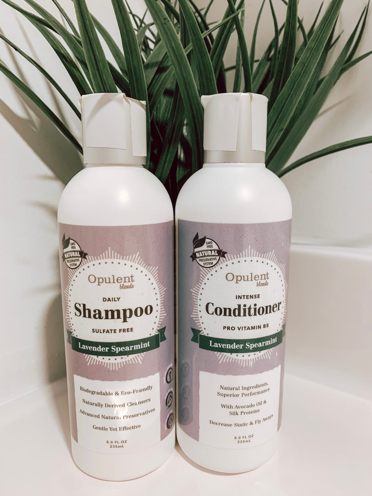 Opulent Blends Shampoo and Conditioner Set