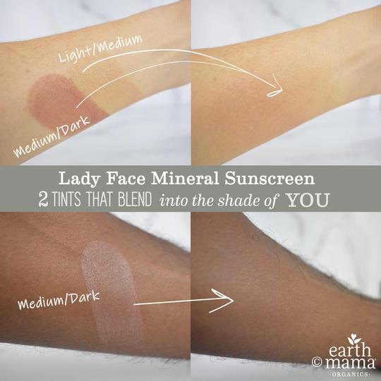 Earth Mama Lady Face Mineral Sunscreen