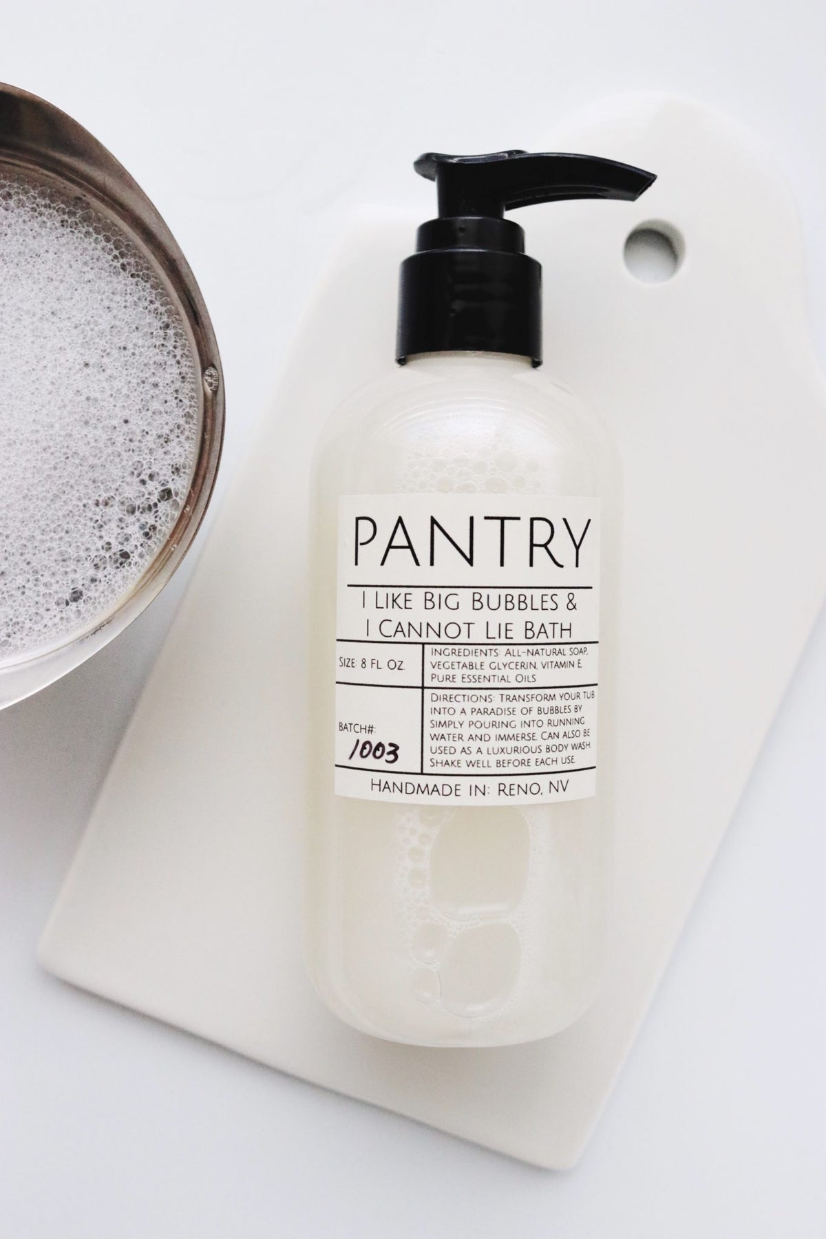Pantry Bubble Bath