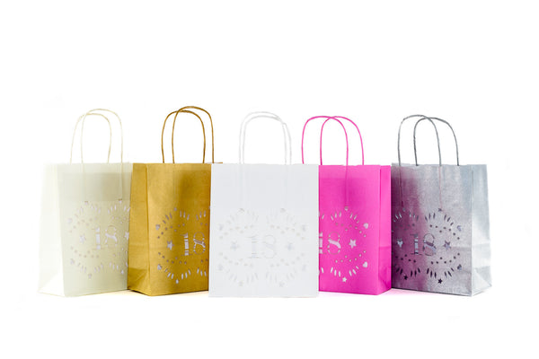 18th Birthday Decorations - Luminary bags - lantern bags for the perfect party mood
