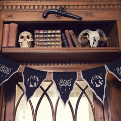 bunting halloween party decoration boo