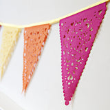 carnival colours party bunting