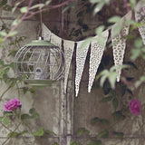 Ikat Inspired Design Neutral Bunting