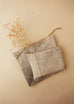The Evening Clutch in Brown Marble