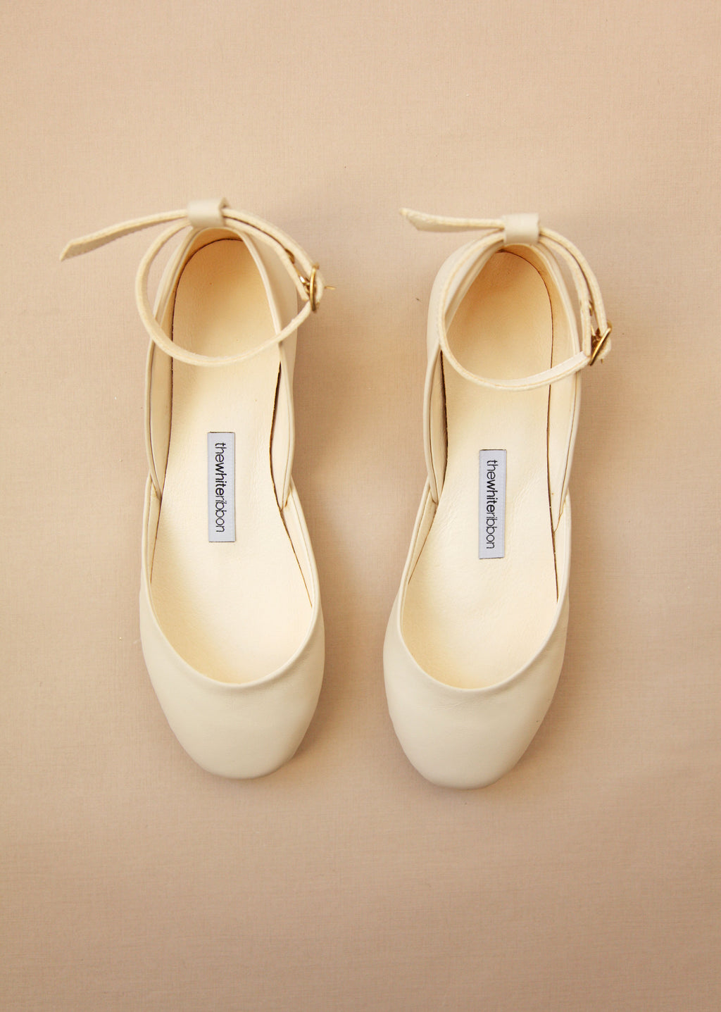 Vanilla Ivory with Ankle Straps