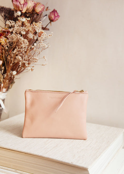 Nude Bridal Clutch