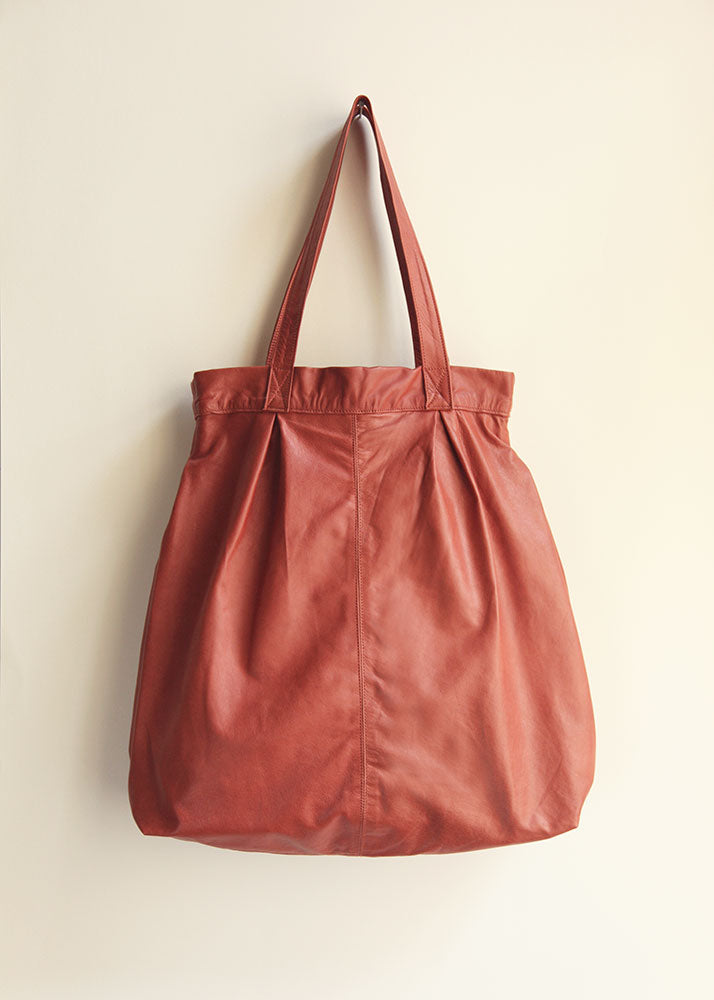 The Marrakech Bag in Terracotta Red